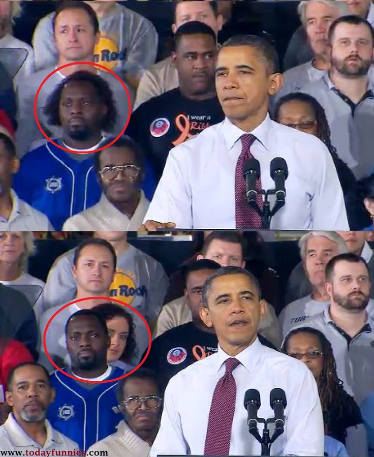 Funny Man Behind The #Obama...!   Today Funnies
