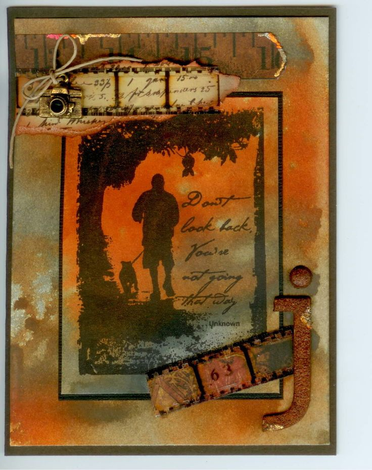 Stamp-It Australia: 4965F Going that Way. Card by Susan of Art Attic Studio