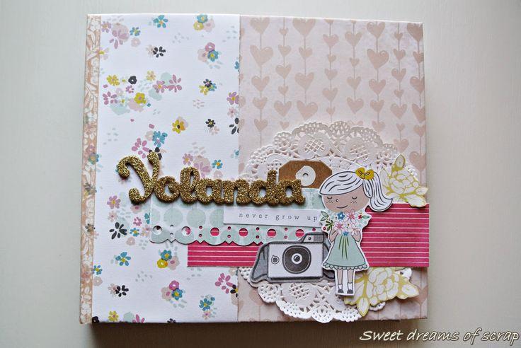 sweet dreams of scrap: Album de comunion para Yolanda