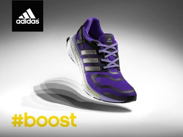 #adidas #boost is Ladies Run Sports Partner !!