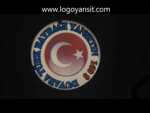 Logo Yansıt Türk Bayrağı Dönen Yazı Uygulaması -  200$ Dış ortam Gezen Logo yansıtıcı www.logoyansit.com Tel     : 02126572496 Gsm   : 05443099704 E-mail :info@logoyansit.com Yetkili :Murat Yurdakul