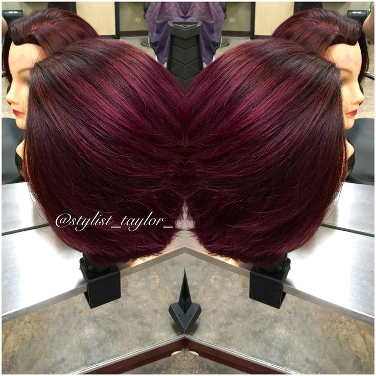 Blackberry Wine ️ Dimensional Purple ️ Violet Red ️ ...