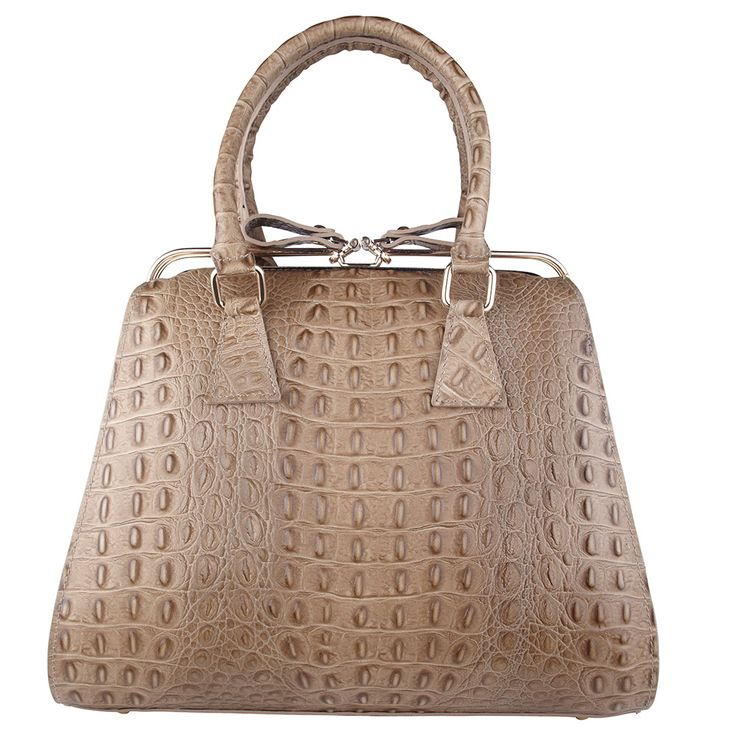 Beautiful, timeless and stylish are just 3 words that can describe one of our newest editions – Tiffany. This bag, in taupe Italian croc print leather is a true stand out, and would make the perfect gift for you or someone special this Christmas.