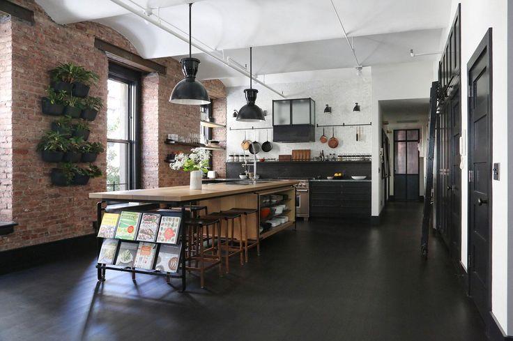 Loft konyha - konyha / étkező ötletek, modern stílusban