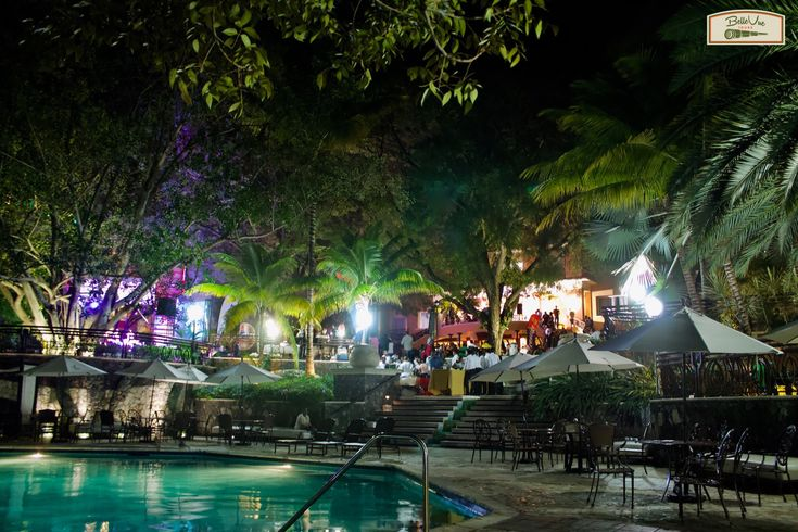Nighttime view when on tour with us at Belle Vue Tours Tour: #HaitiUncoveredCulinaryTour2018  Pic: Grounds of Karibe hotel Event: @papjazzhaiti #Haiti #hotel #PortauPrince #sightseeing #guidedtours #historicaltours #culturaltours #tours #traveler #travel #grouptravel