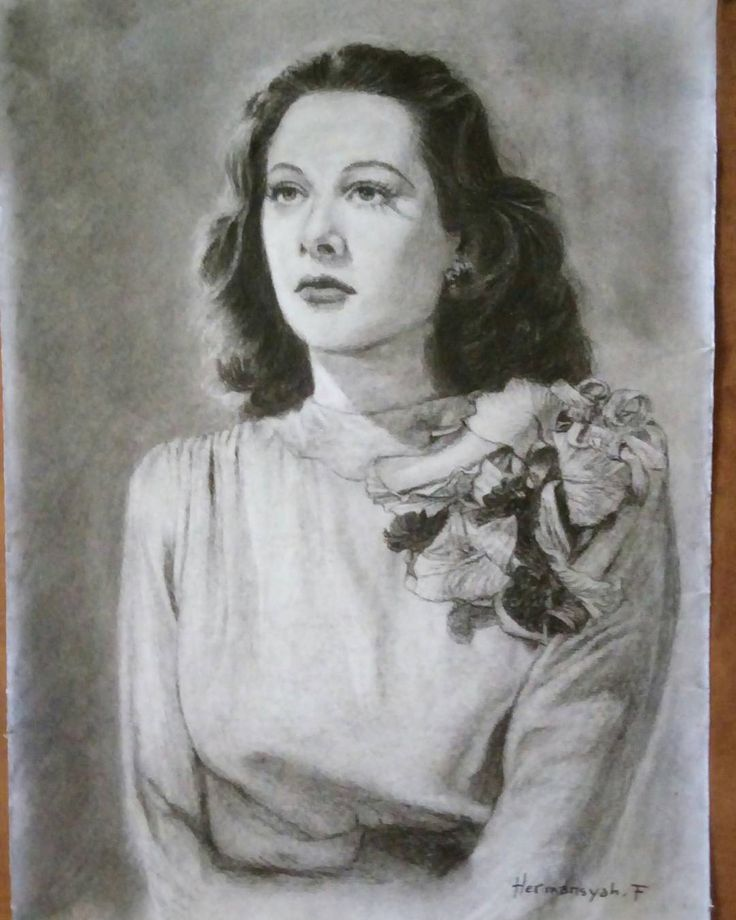 "10 Likes, 1 Comments - Hermansyah Filani (@filani_art) on Instagram: ""Hedy Lamarr, pencil drawing on A4 paper. #pencildrawings #filaniart #hedylamarr"""