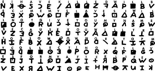 Zodiac Killer, Cipher 408 (3)