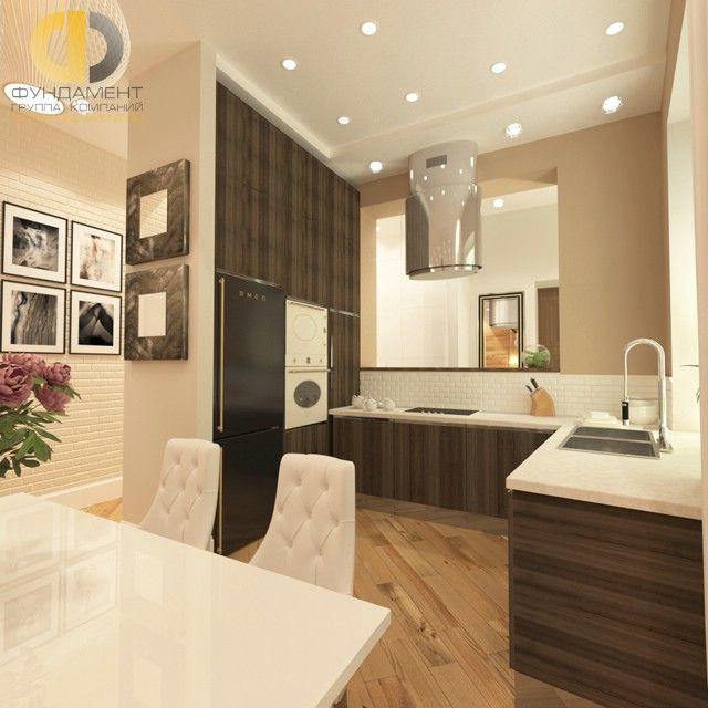 Дизайн современной кухни 9 кв м 156