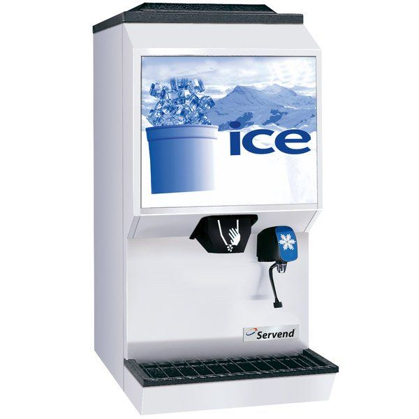 Follett Countertop Ice And Water Dispenser 186kg Ice Group