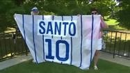 Ron Santo's family is preparing for his Hall of Fame Induction today, Sunday (7/22/12) in Cooperstown, NY. Ron Santo's attitude in battle with diabetes was an inspiration to everyone.