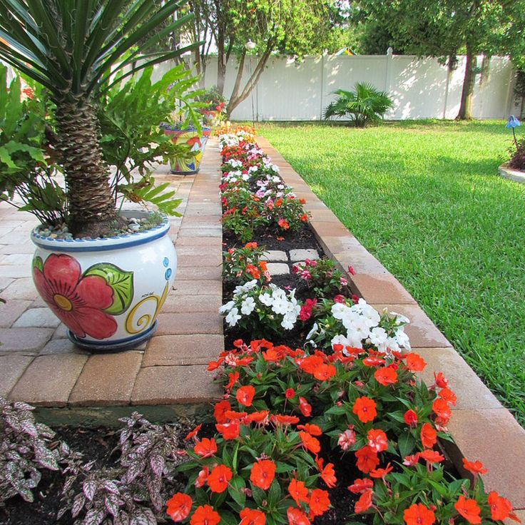 Ideas For Flower Bed Borders: Best 25+ Flower Bed Borders Ideas On Pinterest