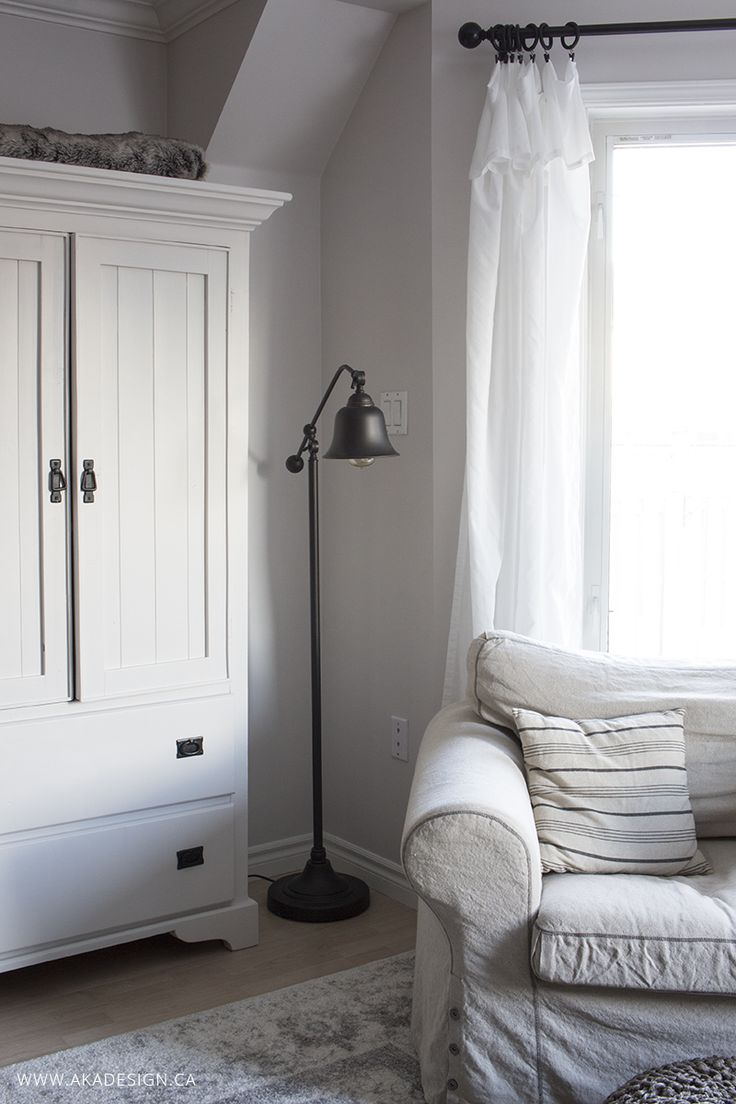 White curtains bedroom - Inexpensive Curtains Ikea Curtain Hack