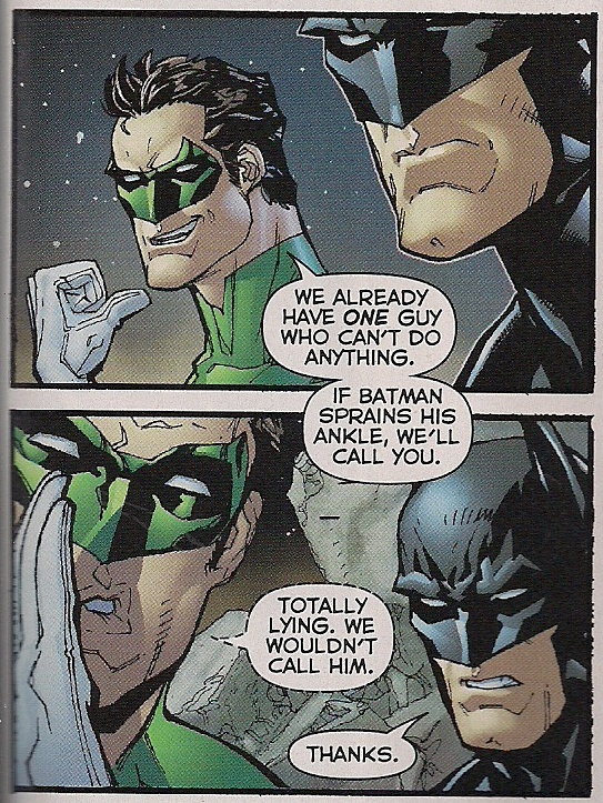 the justice league #8