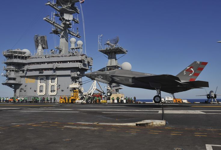 Week One Of The F-35C's Initial Ship Trials In Stunning Imagery