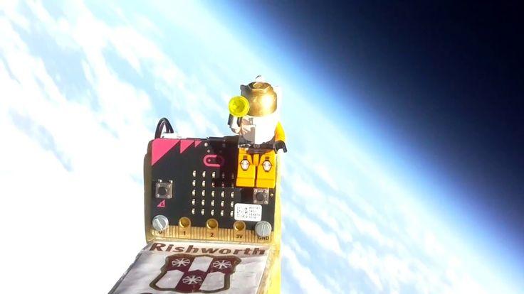 BBC micro:bit in space!