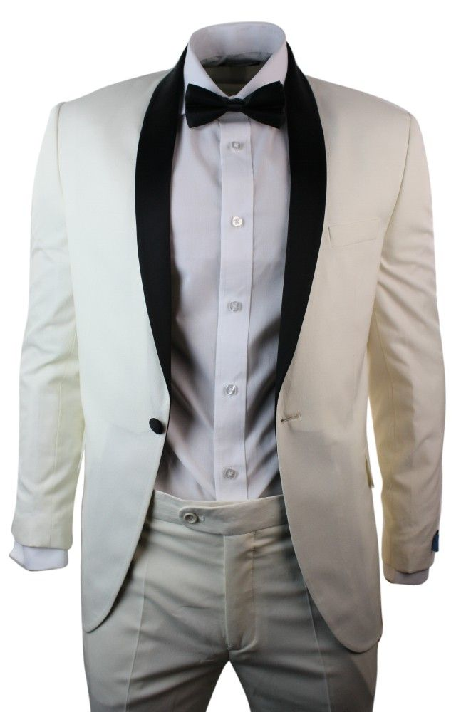 220 best men 39 s wear images on pinterest leather jackets for Mens ivory dress shirt wedding
