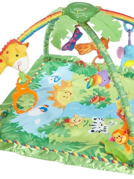 Fisher-Price Rainforest Deluxe Gym