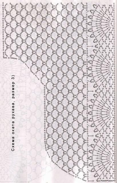 crochelinhasagulhas: crochet Giacca bianca