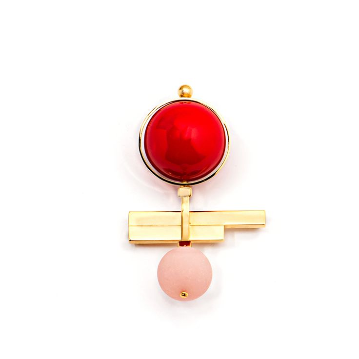 Crystalline Brooch #fashion #brooch #accessories #sylviogiardina #jewellery #valerydemure [discover more at www.valerydemure.com]