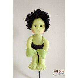 Boneco de Pano Hulk 30cm