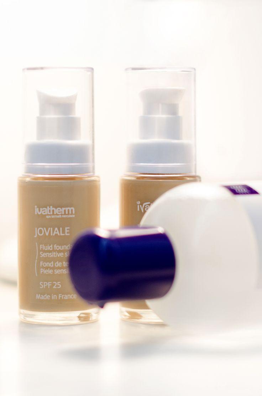 #ivatherm #makeup #joviale #fluidfoundation #micellarlotion #perfectmakeup #sensitiveskin #herculanethermalwater