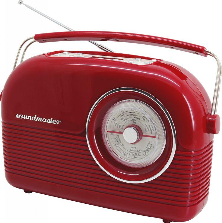 soundmaster DAB450RO incl. DAB+