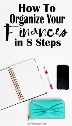 How to organize your money, credit, net worth, and bills. | Financegirl