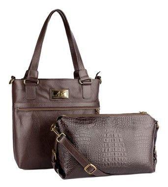 dd19749d9 Bolsa transversal feminina de couro café - Enluaze | Bolsas e acessórios de  couro
