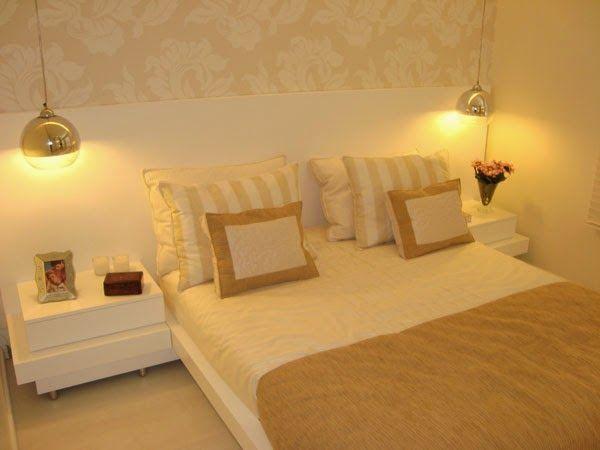 Linda decoração de quarto de casal!♥♥