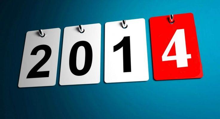 Calendario 2014 para imprimir con feriados http://blgs.co/B47P7v