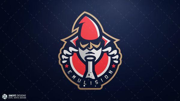 Разработан логотип для кибер спортивной команды- Emulision