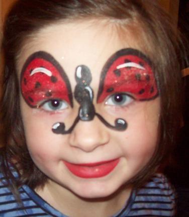 heerebeestje  Face Painting .. schminken ..   bsafoto.com