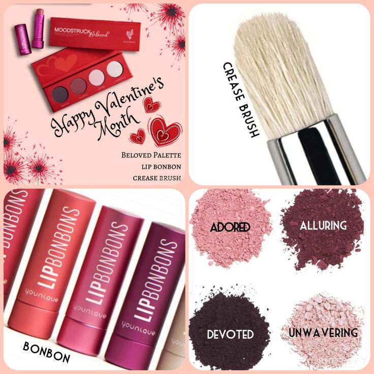 Are you ready for Valentine's day? I can help you with this amazing bundle!! Limited edition (beloved) palette, a lip bonbon of your choice and the crease brush!! Click on kudos at www.taniaslashes.com #younique #taniaslashes #valentinesday #limitededition
