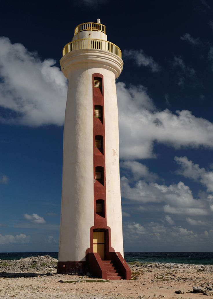 Bonaire Lighthouse  Want to live and work on nature and divers paradise Bonaire, Dutch Caribbean. Go to  Bed and Breakfast Bonaire For Sale More information on http://bedandbreakfastbonaire.com/