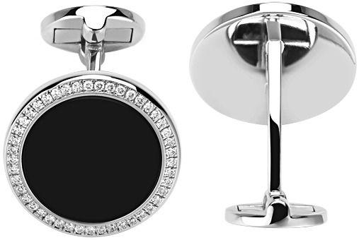 Altiplano Piaget Cufflinks - White gold Onyx Diamond