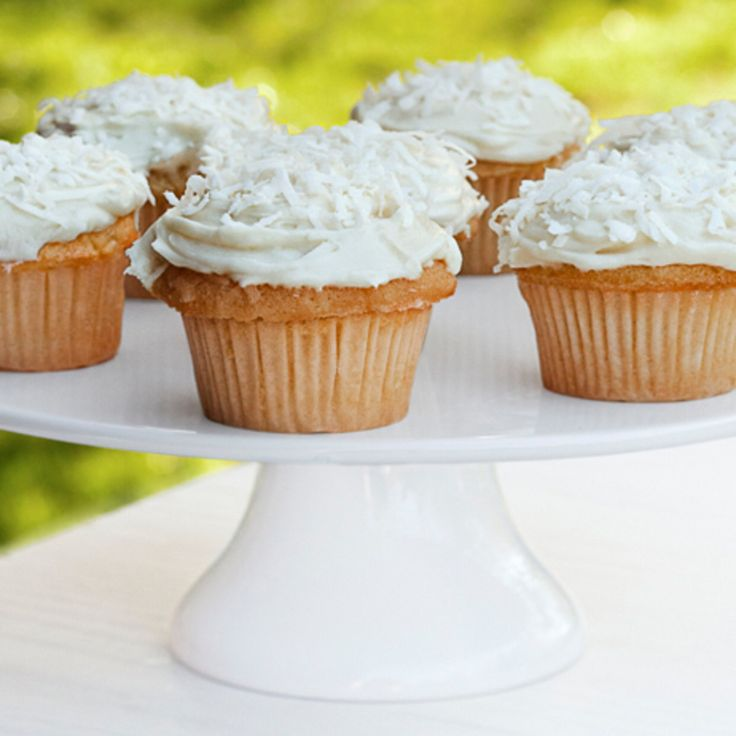 Coconut Cupcakes With Cream Cheese Icing By Ina Garten