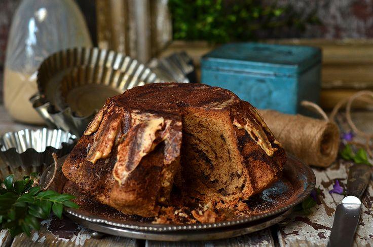 Babka tiramisu - intensywnie kawowa, wilgotna, idealna na Wielkanoc i na co dzień, zwyczajnie do kawy czy herbaty. Łatwa w przygotowaniu.
