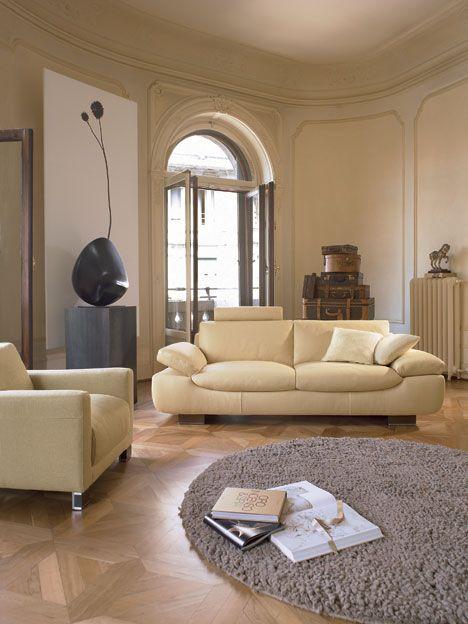 DECORACION DE INTERIORES: ESTILO HIGH-TECH Colores neutros en salón