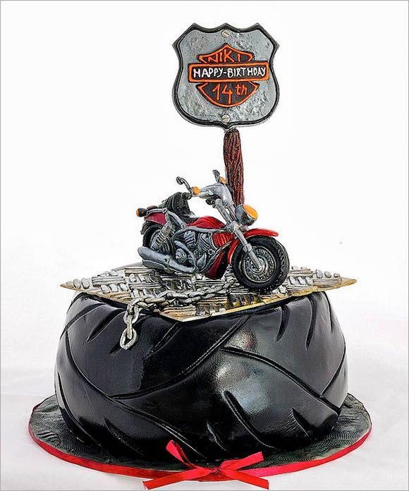 60 best Harley Davidson Cakes images on Pinterest Harley davidson