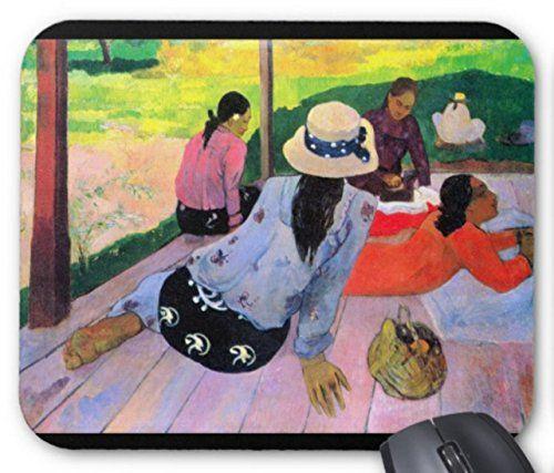 ポール・ゴーギャン『 昼寝 』のマウスパッド:フォトパッド(世界の名画シリーズ) 熱帯スタジオ…