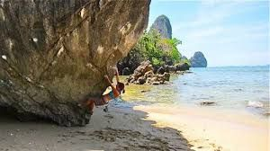 rock climbing thailand , koh tao