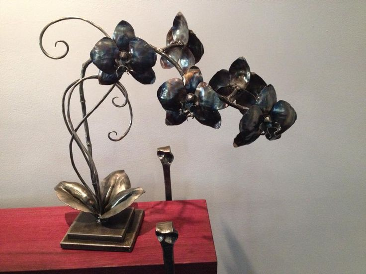 Forged Steel Orchid - Chris Spilak - Artfullycrooked