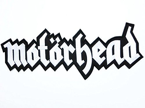 13 Big patch MOTORHEAD Logo Heavy Metal Big Iron On Sew On Embroidered Back Patch Approx 1333cm x 45115cm By MNC Shop * Visit the image link more details.