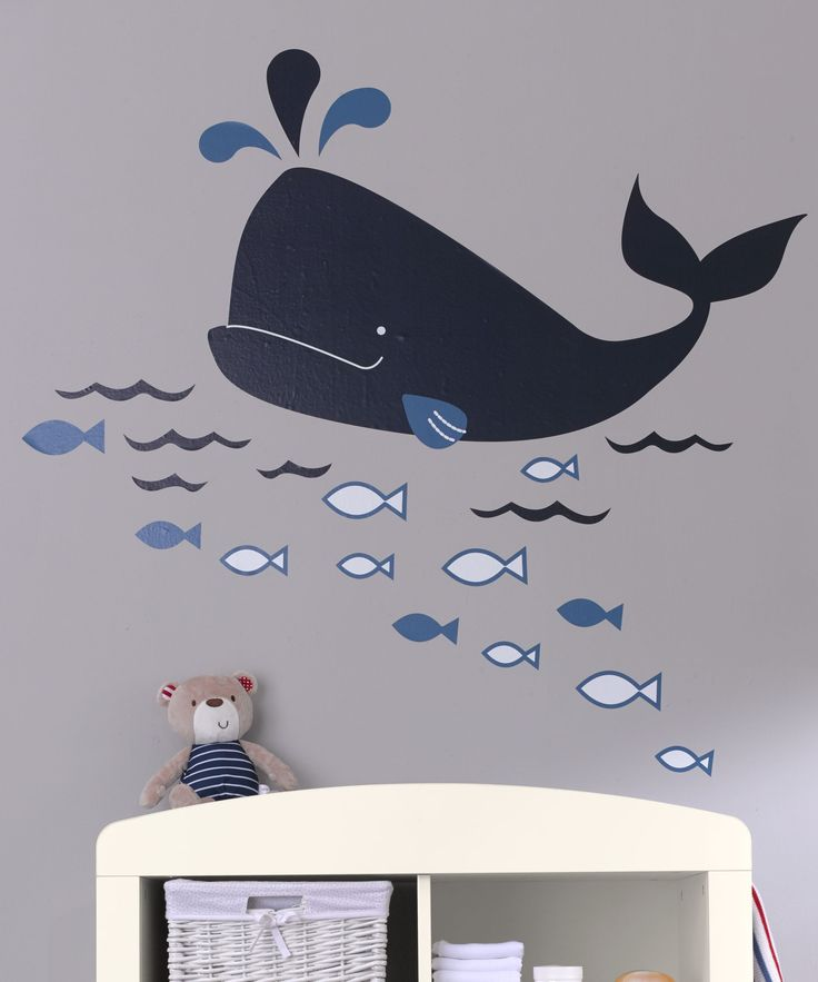 Mothercare Whale Bay Large Wall Stickers