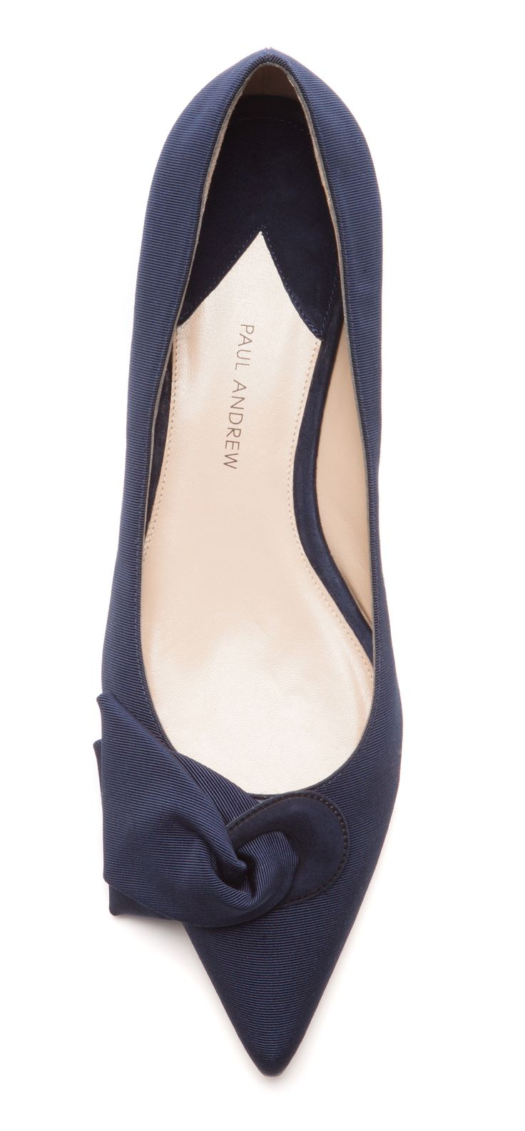 Classic pointed flats that would go well with business attire or casual clothing