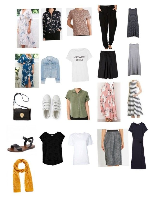 12 days in Japan Spring Packing List by katie-blyth on Polyvore featuring polyvore, fashion, style, Bobeau, Astraet, rag & bone and clothing