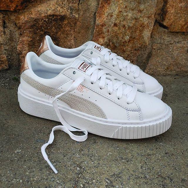 e5b2c10cf23557 Puma Basket Platform Euphoria Wn s White Size Wmns - Precio  109 (Spain  Envíos Gratis