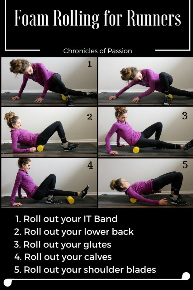 Tips and information to help you get started with a foam roller, as well as 5 exercises!