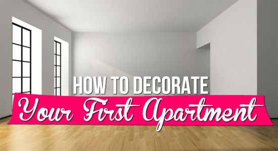 How to Decorate Your First Apartment| I suppose its a bit late for this, but I bet it will inspire some new innovations!
