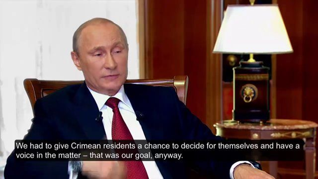 """DOCUMENTARY FILM """"CRIMEA. THE WAY HOME"""" (English subtitles, part #1). In the documentary, for the first time ever, there are two explicit interviews of Vladimir Putin and all the episodes of the Crimea Spring 2014, the ones that have determined the history of modern Russia. #crimea #putin #ukraine #donbass #NATO #marines #spetsnaz #russia #films #movie"""
